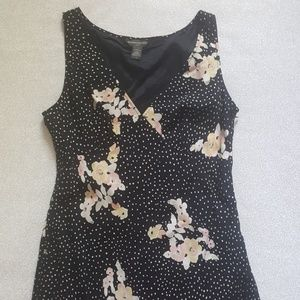 Banana Republic florial dress size 12